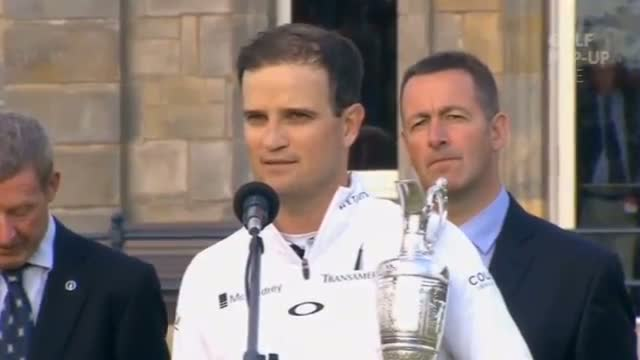 Zach Johnson Wins British Open - Presentation (2015)