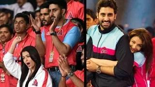 Awww! Ill Aishwarya Rai Attends Pro-Kabaddi Just for Abhishek! - Watch Now!
