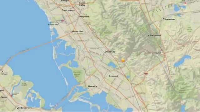 4.0 Magnitude Earthquake Strikes Near Fremont, California