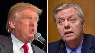 Trump Gives Out Lindsey Grahams Cell Number