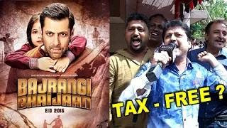 Will Salman Khan's Bajrangi Bhaijaan Become Tax-Free All Over India? - Watch Now!