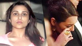 Celebs Spotted CRYING - Aamir, Sonakshi, Parineeti Video