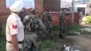 Punjab terror attack in Dinanagar, Gurdaspur.