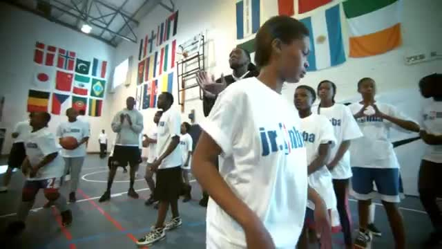 NBA: NBA Cares at Basketball Without Borders Africa