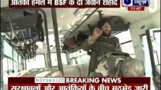 Kashmir BSF Attack: Militant attack on BSF convoy; two jawans and one militant killed