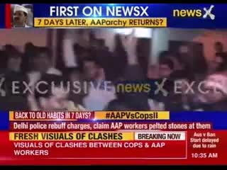 AAP MLA booked: AAP MLA Sanjiv Jha and Akhilesh Tripathi booked for rioting in Burari