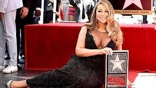 Mariah Carey Gets Star On 'Hollywood Walk of Fame' (VIDEO)