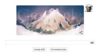 Mont Blanc first ascent: Google marks 229th anniversary with a doodle