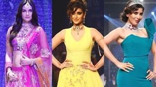 IIJW Fashion Show 2015 - Ileana D'Cruz, Sophie Choudry, Kriti Sanon & Aditi Rao Hydari