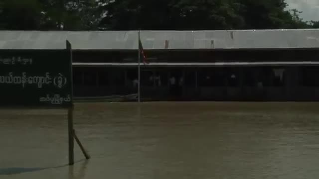 Death Toll Rises to 99 in Myanmar Floods