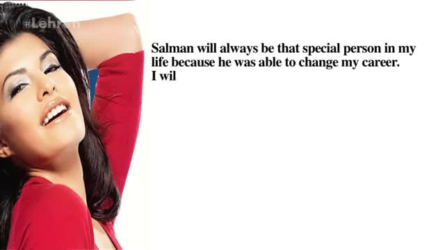 Jacqueline CONFESSES Her Relation With Salman