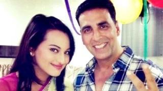 Akshay Will ROMANCE Sonakshi Again??   Namaste England