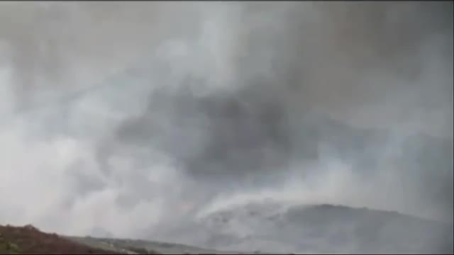Wildfire Spreading in Southern California