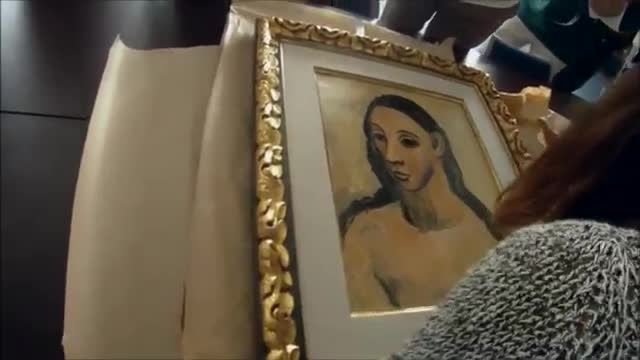 Seized Picasso Painting Returns to Spain
