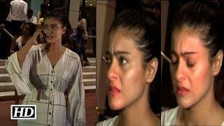 Have you ever seen Kajol cry in Real Life ? Watch Here