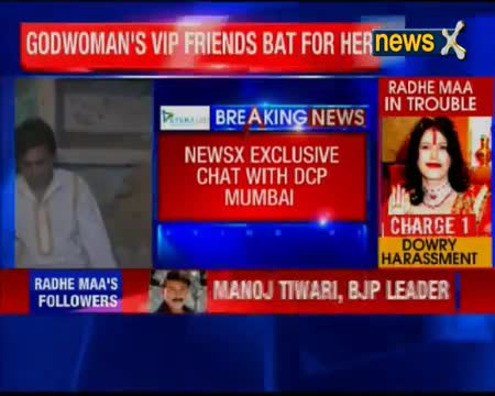 Radhe Maa did nothing wrong, says MoS Vijay Sampla her supporter