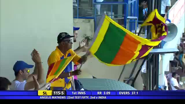 SL vs IND: 1st Test 2015, Day 1 Sixes Highlights