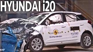 CRASHES 2015 Hyundai i20