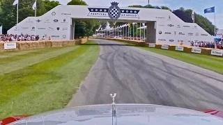 One Lap at the Goodwood Festival of Speed with Rolls-Royce Wraith