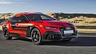 2016 Audi RS 7 proto - AUTONOMOUS Driving on Racetrack