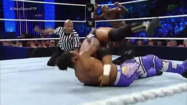 The Prime Time Players vs. Big E & Xavier Woods: WWE SmackDown, Aug. 13, 2015