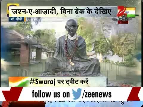 Independence Day: PM Modi pays homage to Mahatma Gandhi at Rajghat