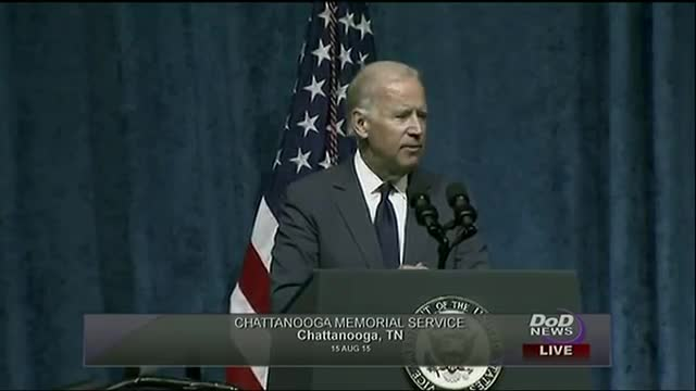 Biden: Chattanooga Gunman a 'Perverted Jihadist'