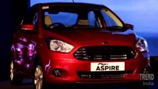 Ford Figo Aspire 2015 India Launch