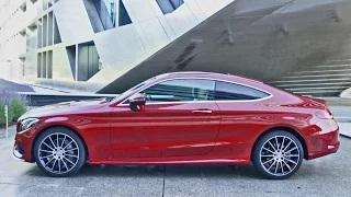 2016 C-Class Coupe AMG Line C 250 d 4MATIC - Footage