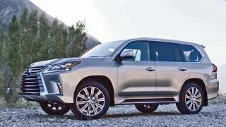 2016 Lexus LX 570 facelift - Footage