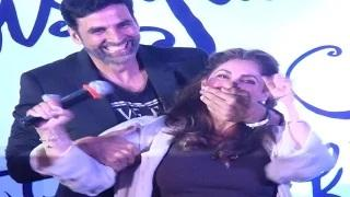 Dimple Kapadia's FUNNY ACT @ daughter Twinkle Khanna's Mrs. FunnyBones BOOK LAUNCH