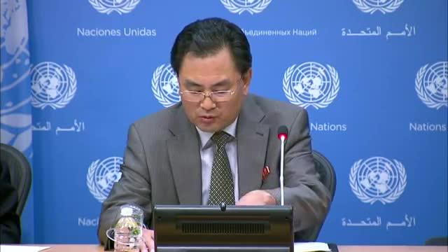 NKorea UN Ambassador Warns US, SKorea