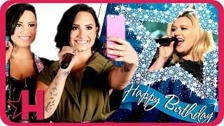 Demi Lovato's Early Birthday Presents from Madame Tussauds & Kelly Clarkson