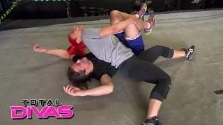 Eva Marie hits a milestone in her training with Brian Kendrick: WWE Total Divas: August 18, 2015