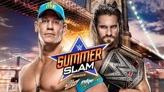 John Cena vs. Seth Rollins - Title-for-Title Match: SummerSlam WWE 2K15 Simulation