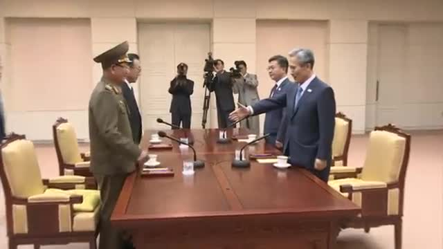 Two Koreas Meet to Defuse Tension