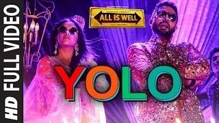 YOLO Song - All Is Well (2015) | ShreeRaamachaandra | Dr Zeus