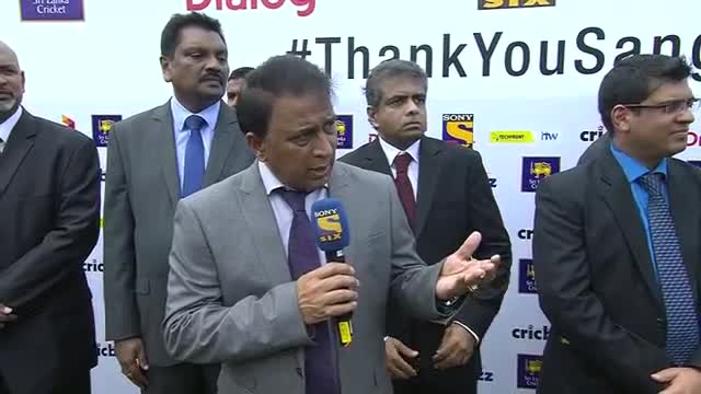Sunil Gavaskar inviting Kumar Sangakkara to former Cricketers Club - (SL vs IND 2015, 2nd Test)