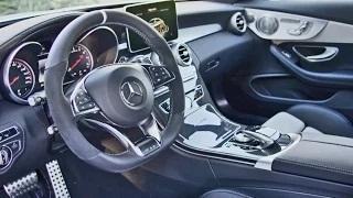 2016 Mercedes-AMG C 63 S Coupe INTERIOR