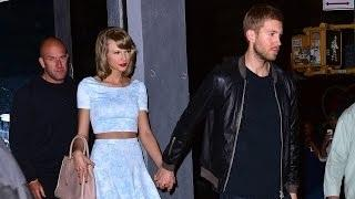 Taylor Swift Mouths 'I Love You' to Calvin Harris!