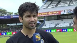 Naman Ojha receives his test CAP from Indian skipper (SL vs IND 2015, 3rd Test Day 1)