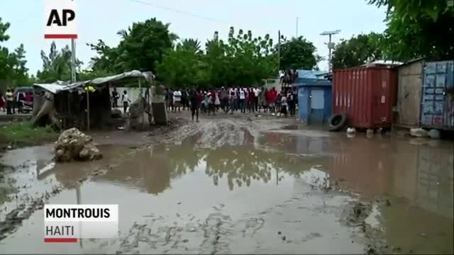 Erika Wreaks Havoc On Haiti, Dominica