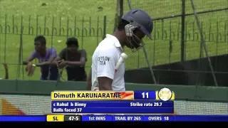 Sri Lanka vs India: 3rd Test 2015, Day 3 Wickets Highlights (SL vs IND 2015, 3rd Test)