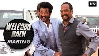 UNVEILED! Behind the scenes look at the madness of Uday Bhai & Majnu Bhai | Welcome Back