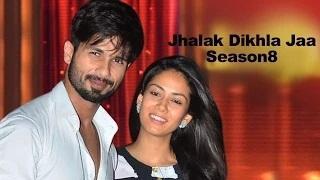 Shahid Kapoor and Mira Rajput Kapoor performing on Jhalak Dikhla Jaa Season 8   Vscoop