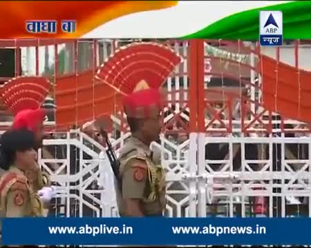 Beating Retreat ceremony at Wagah Border [Independence Day Celebration]