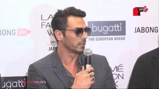 Arjun Rampal Walks For Jabong's Bugatti At Lakme Fashion Week 2015
