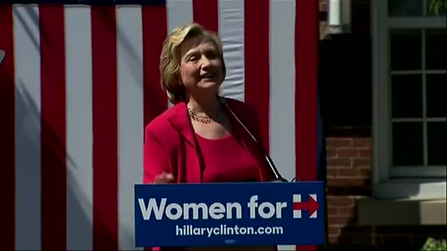 Clinton Hits GOP over Women's Issues in NH