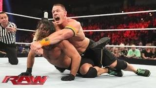 John Cena & Prime Time Players vs. Seth Rollins & The New Day - Champions vs. Challengers Match: WWE Raw