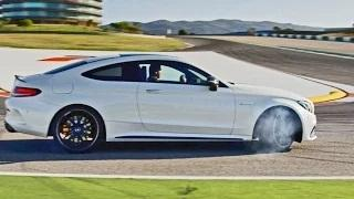 2016 Mercedes-AMG C63 S Coupe - Footage